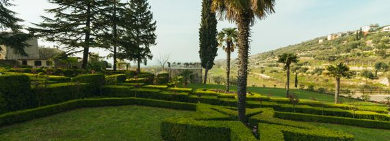 The garden of Villa Spinosa